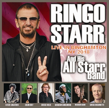 RINGO STARR & HIS ALL STARR BAND - LIVE IN BINGHAMTON NY 2018