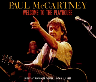 PAUl McCARTNEY - WELCOME TO THE PLAYHOUSE (3CDR)