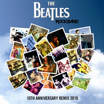 THE BEATLES - ROCKBAND: 10TH ANNIVERSARY REMIX 2019 (1CDR)
