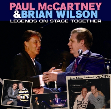 PAUL McCARTNEY & BRIAN WILSON - LEGENDS ON STAGE TOGETHER (1CDR)