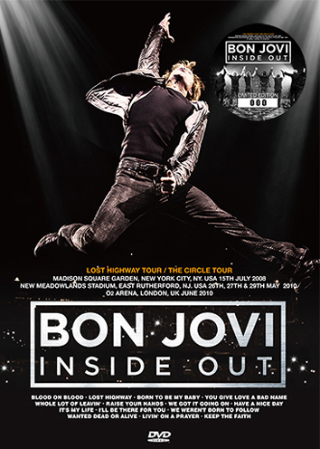 BON JOVI - INSIDE OUT: DVD Edition