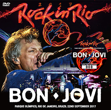 BON JOVI - ROCK IN RIO 2017 DVD