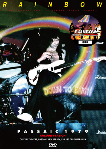RAINBOW - PASSAIC 1979: COLOUR VERSION (1DVD)