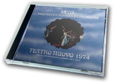 P.F.M. - TEATRO NUOVO 1974