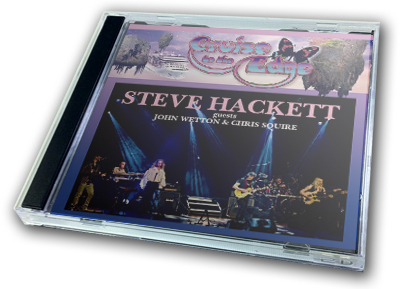 STEVE HACKETT - CRUISE TO THE EDGE 2014