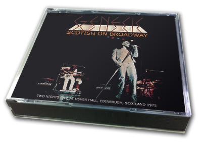 GENESIS - SCOTISH ON BROADWAY