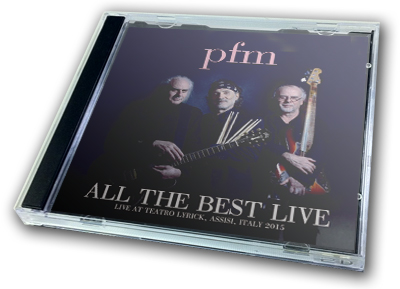 P.F.M. - ALL THE BEST LIVE