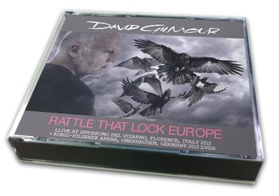 DAVID GILMOUR - RATTLE THAT LOCK EUROPE