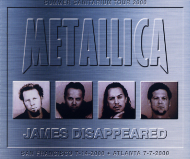 METALLICA - JAMES DISAPPEARED