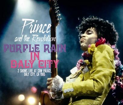 PRINCE - PURPLE RAIN IN DALY CITY (4CDR)