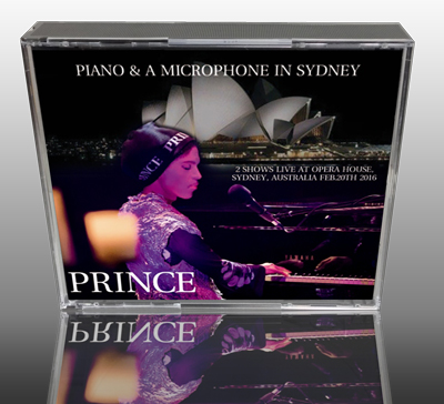 PRINCE - PIANO AND A MICROPHONE IN SYDNEY