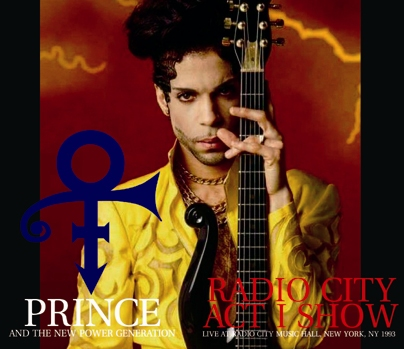 PRINCE - RADIO CITY ACT I SHOW