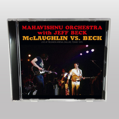 MAHAVISHNU ORCHESTRA WITH JEFF BECK - MCLAUGHLIN VS. JEFF BECK
