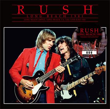 RUSH - LONG BEACH 1981 (2CD)