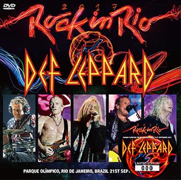 DEF LEPPARD - ROCK IN RIO 2017 DVD