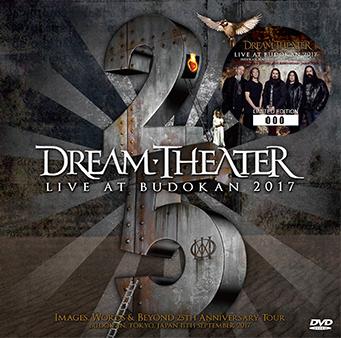 DREAM THEATER - LIVE AT BUDOKAN 2017 DVD