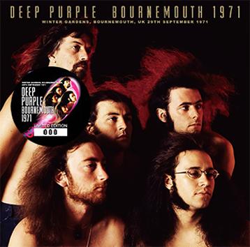 DEEP PURPLE - BOURNEMOUTH 1971