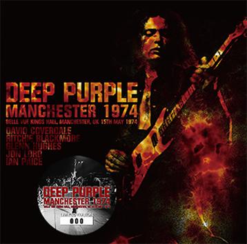 DEEP PURPLE - MANCHESTER 1974