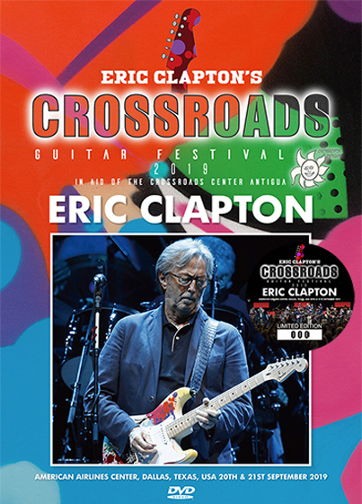 ERIC CLAPTON - CROSSROADS GUITAR FESTIVAL 2019 (Pressed 1DVD)