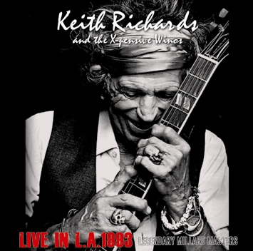 KEITH RICHARDS and X-PENSIVE WINOS - LIVE IN L.A.1993 =LEGENDARY MILLARD MASTERS=(2CDR)