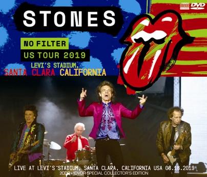 THE ROLLING STONES - NO FILTER US TOUR 2019: LEVI'S STADIUM, SANTA CLARA, CALIFORNIA (2CDR+1DVDR)