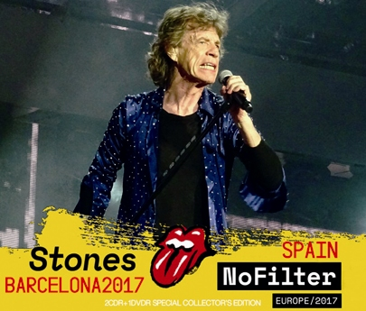 ROLLING STONES - NO FILTER TOUR: BARCELONA, SPAIN 2017