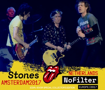 ROLLING STONES - NO FILTER TOUR: AMSTERDAM, THE NETHERLANDS 2017