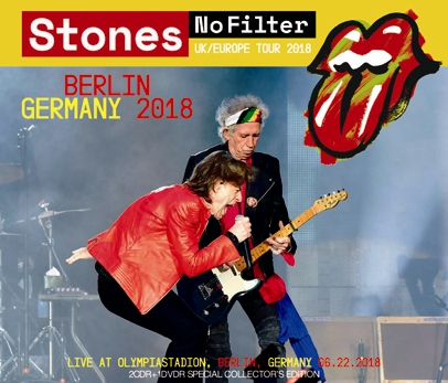 ROLLLING STONES - NO FILTER TOUR: BERLIN, GERMANY 2018