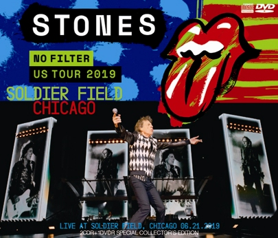 THE ROLLING STONES - NO FILTER US TOUR 2019: SOLDIER FIELD, CHICAGO (2CDR+1DVDR)