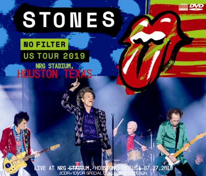 THE ROLLING STONES - NO FILTER US TOUR 2019: NRG STADIUM, HOUSTON TEXAS (2CDR+1DVDR)