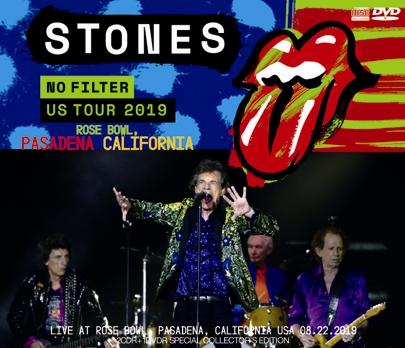 THE ROLLING STONES/NO FILTER US TOUR 2019 - ROSE BOWL, PASADENA, CALIFORNIA (2CDR+1DVDR)