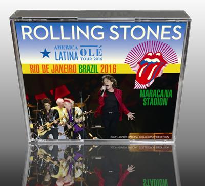 ROLLING STONES - AMERICA LATINA OLE TOUR 2016 : RIO DE JANEIRO BRAZIL