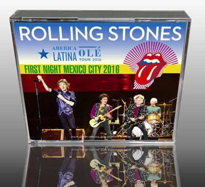 ROLLING STONES - AMERICA LATINA OLE TOUR 2016: FIRST NIGHT MEXICO CITY