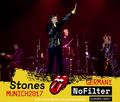 ROLLING STONES - NO FILTER TOUR -MUNICH, GERMANY 2017