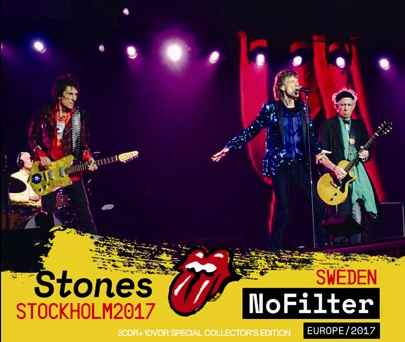 ROLLING STONES - NO FILTER TOUR: STOCKHOLM, SWEDEN 2017