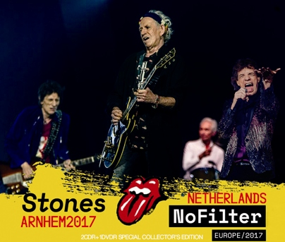 ROLLING STONES - NO FILTER TOUR: ARNHEM, NETHERLANDS 2017