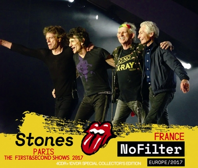ROLLING STONES - NO FILTER TOUR: PARIS 1ST & 2ND SHOW 2017