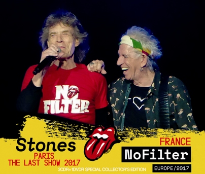 ROLLING STONES - NO FILTER TOUR: PARIS THE LAST SHOW 2017