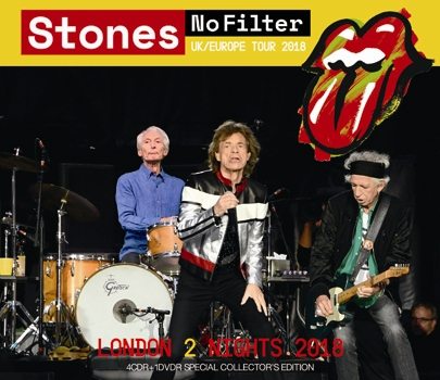 ROLLING STONES - NO FILTER TOUR: LONDON 2 NIGHTS 2018