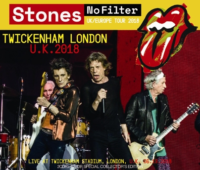 ROLLING STONES - NO FILTER TOUR: TWICKENHAM LONDON 2018