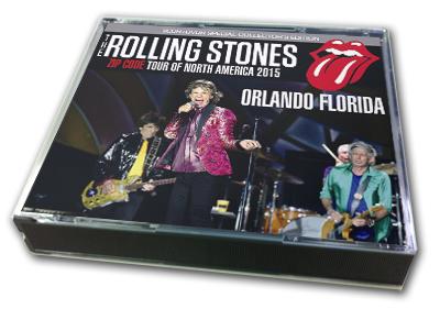 ROLLING STONES - ZIP CODE TOUR OF NORTH AMERICA 2015 : ORLANDO FLORIDA