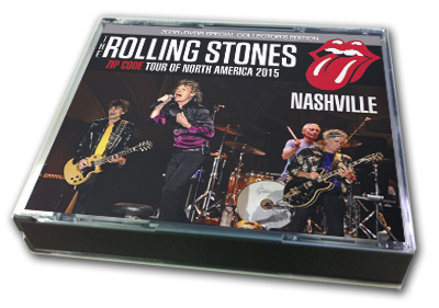 ROLLING STONES - ZIP CODE TOUR OF NORTH AMERICA 2015 : NASHVILLE TENNESSEE