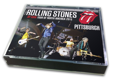 ROLLING STONES - ZIP CODE TOUR OF NORTH AMERICA 2015 : PITTSBURGH