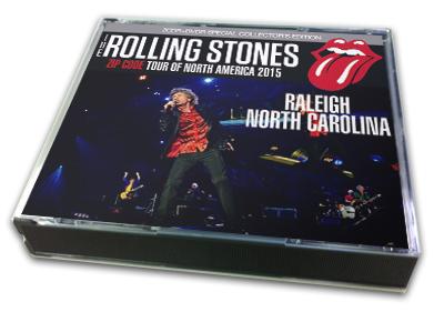 ROLLING STONES - ZIP CODE TOUR OF NORTH AMERICA 2015 : RALEIGH NORTH CAROLINA