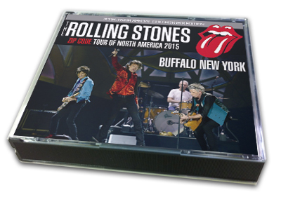 ROLLING STONES - ZIP CODE TOUR OF NORTH AMERICA 2015 : BUFFALO NY