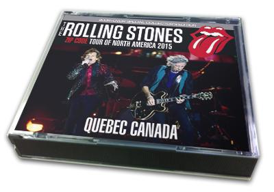 ROLLING STONES - ZIP CODE TOUR OF NORTH AMERICA 2015 : QUEBEC CANADA
