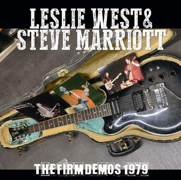 LESLIE WEST & STEVE MARRIOTT - THE FIRM DEMOS 1979 (1CDR)
