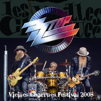 ZZ TOP - VIEILLES CHARRUES FESTIVAL 2008 (2CDR)