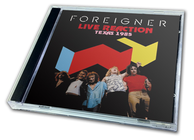 FOREIGNER - LIVE REACTION
