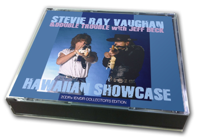 STEVIE RAY VAUGHAN & DOUBLE TROUBLE with JEFF BECK - HAWAIIAN SHOWCASE